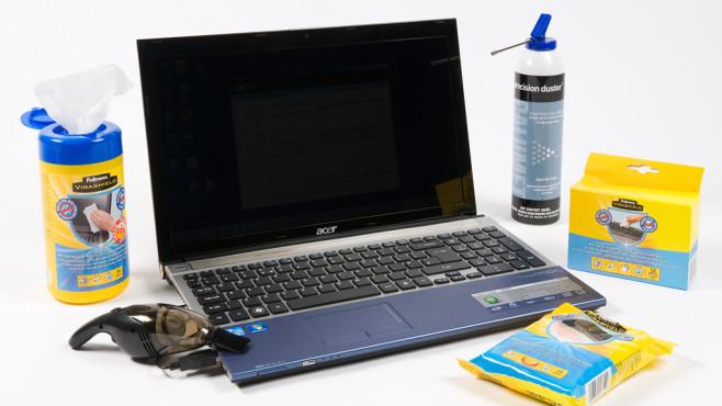 Laptop reinigen©What Laptop Magazine/gettyimages