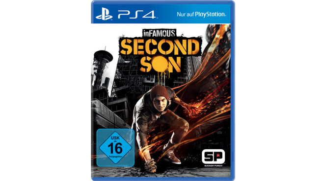 Infamous – Second Son PS4 Packung © Sony Computer Entertainment Deutschland