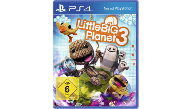 Little Big Planet 3 PS4 Packung © Sony Computer Entertainment Deutschland