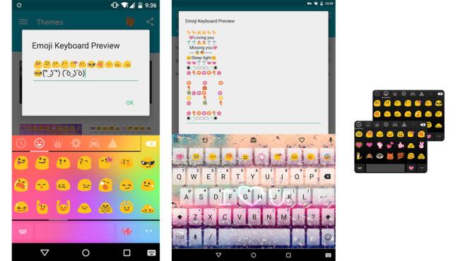 Emoji Keyboard für Android (ab 4.0 Ice Cream Sandwich)©Colorful Emoji Keyboard