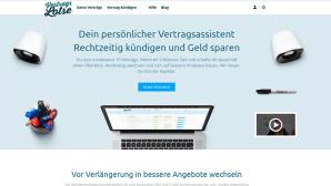 Vertragslotse Homepage©Screenshot: vertragslotse.com