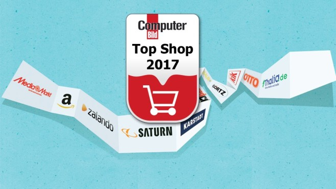 Die Top-Shops 2017©COMPUTER BILD