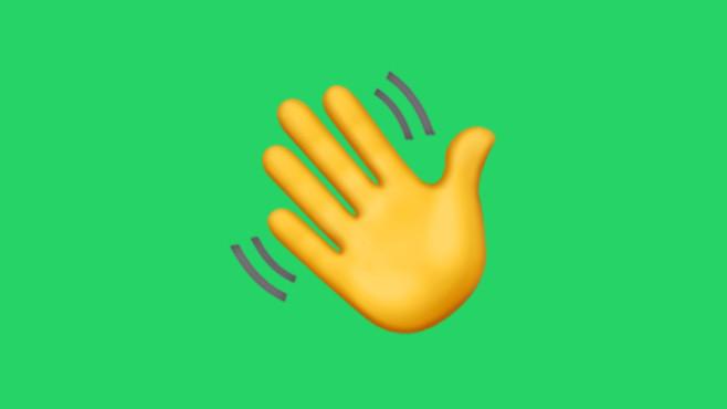 Winkende Hand©Apple/COMPUTER BILD