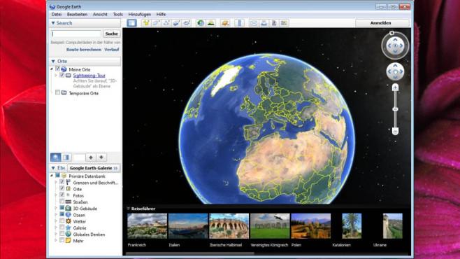 Platz 29: Google Earth (neu) ©COMPUTER BILD