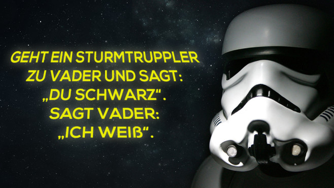whatsapp 50 lustige und coole star wars spr che bilder screenshots computer bild. Black Bedroom Furniture Sets. Home Design Ideas