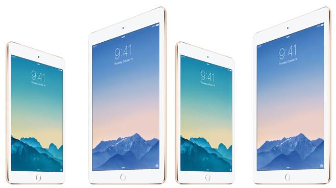 iPad Air 2: Es ist unklar, welchen iPad die Diebe klauten©Apple Inc.