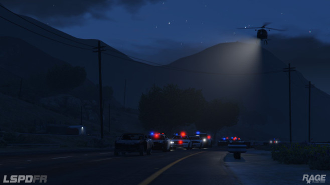 GTA 5: Liberty City Police Department First Responder © http://www.lcpdfr.com