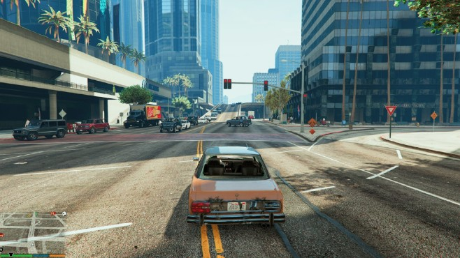GTA 5: More pedestrians and traffic © gta5-mods.com by Lupin