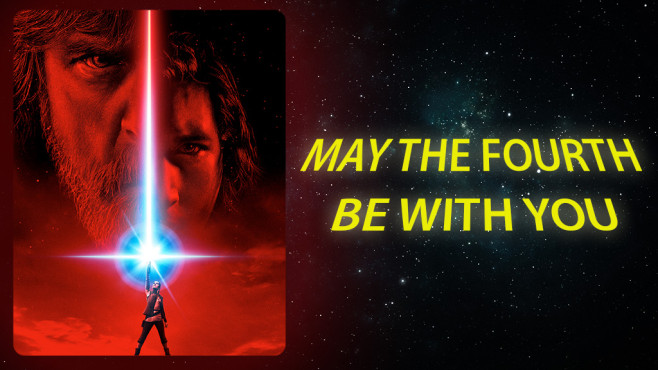 May the Fourth be wih you © 2017 Lucasfilm Ltd. All Rights Reserved.
