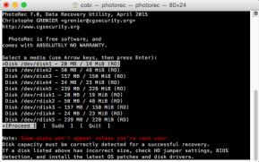 TestDisk & PhotoRec (Mac)
