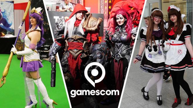 Crazy Cosplayer: Die wollen nicht nur spielen! Die Gamescom lockt jährlich unzählige Cosplayer nach Köln.©COMPUTER BILD