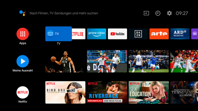 Android TV 8 Oreo: Das kann Googles Smart-TV-Portal
