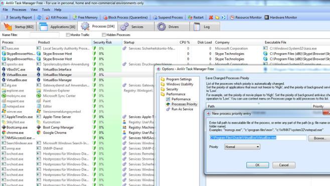 Windows 7/8/10: Jede Software beschleunigen per Prozess-Priorisierung©COMPUTER BILD
