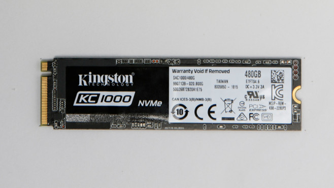 Kingston KC1000 480GB © COMPUTER BILD