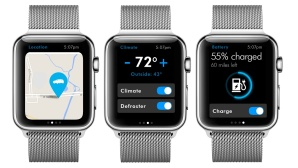 VW Apple Watch App © VW, Apple