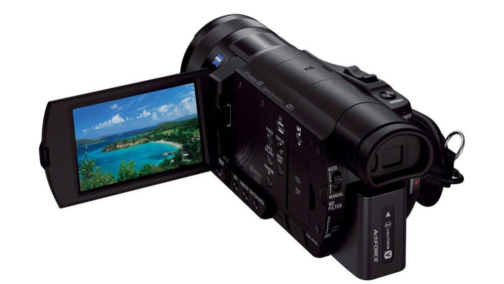 Sony FDR-AX100©Sony