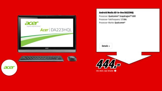 Acer DA223 HQL ©Media Markt