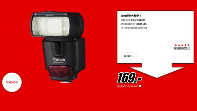 Canon Speedlite 430EX II ©Media Markt