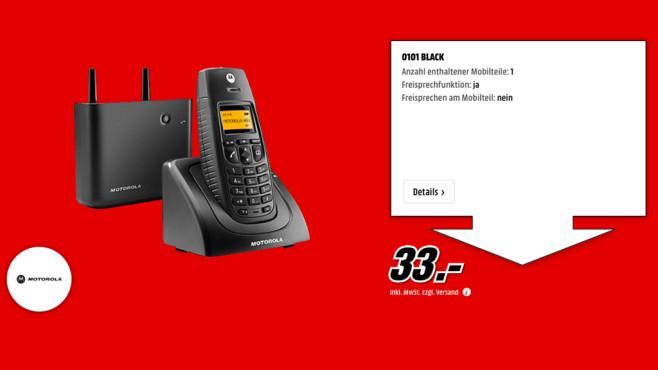 Motorola O101 Single ©Media Markt