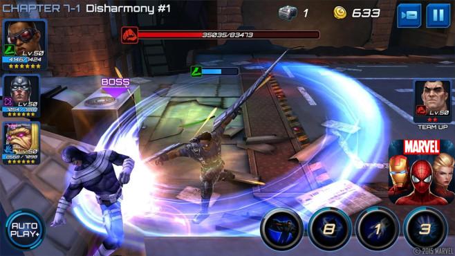 Marvel Future Fight ©Netmarble Games