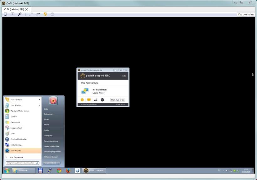 Screenshot 1 - Kwiksupport.me