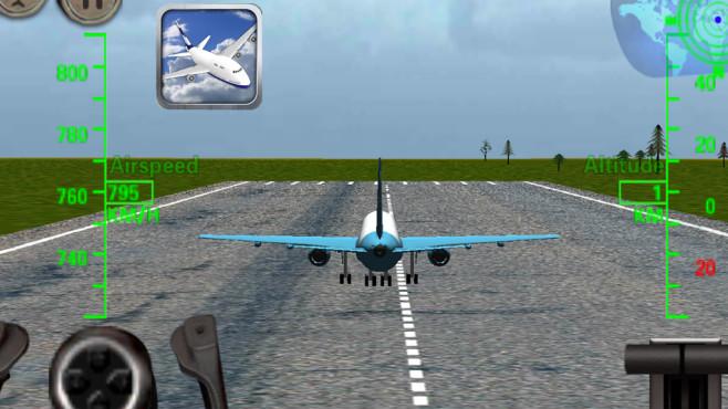 3D Flugzeug Flugsimulator ©VascoGames