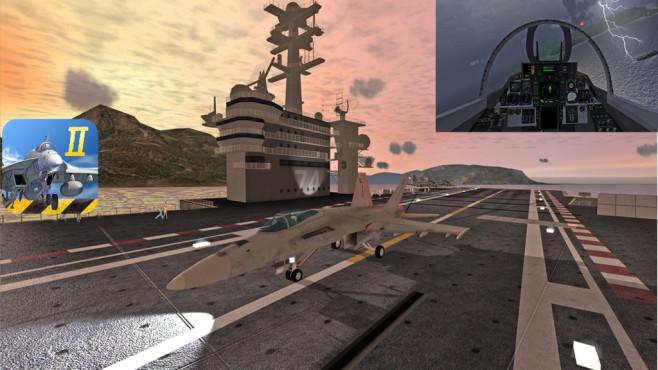 F18 Carrier Landing 2 ©Rortos