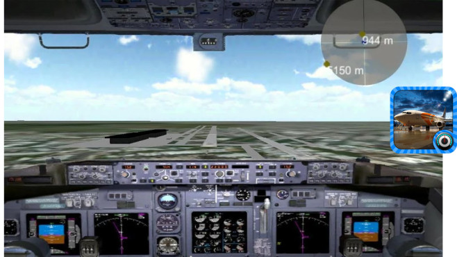 Flight Simulator Boeing Free © Thetis Games and Simulators