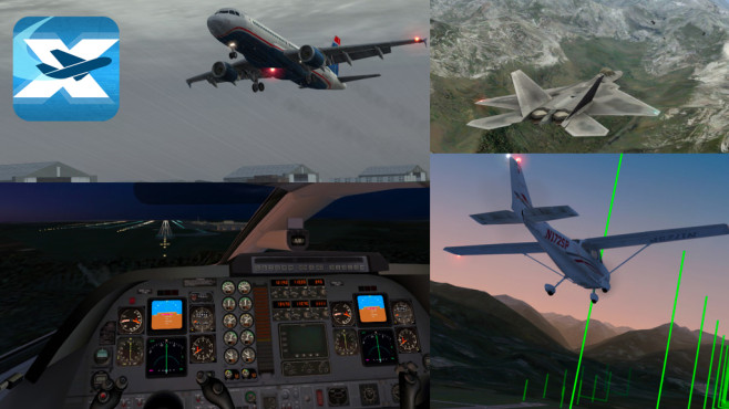 X-Plane 10 Flight Simulator © Laminar Research
