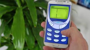 Snake auf dem Android-Handy©COMPUTER BILD