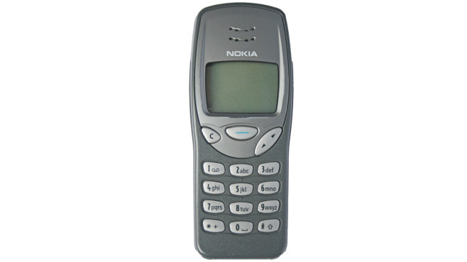 Nokia 3210 © commons.wikimedia.org/wiki/User:Discostu