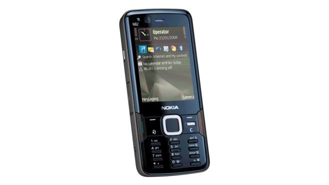 Nokia N82 (2007) ©Nokia