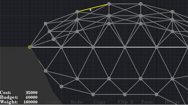 Bridge Building Game: Gitternetz ©Cryptic Sea