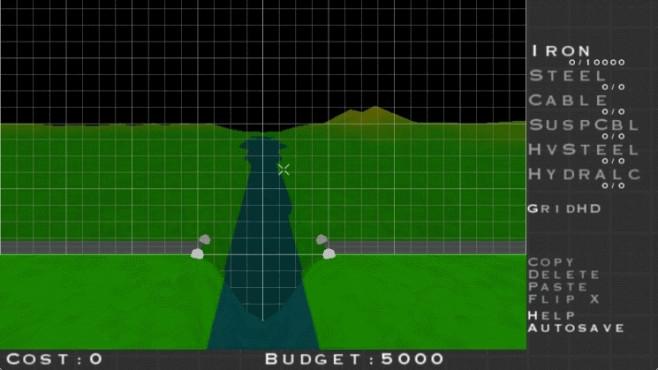 Bridge Construction Set: Brücke ©Chronic Logic