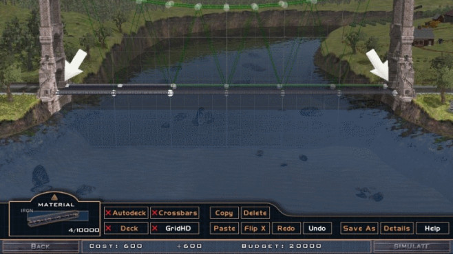 Bridge It: Wasser ©Chronic Logic