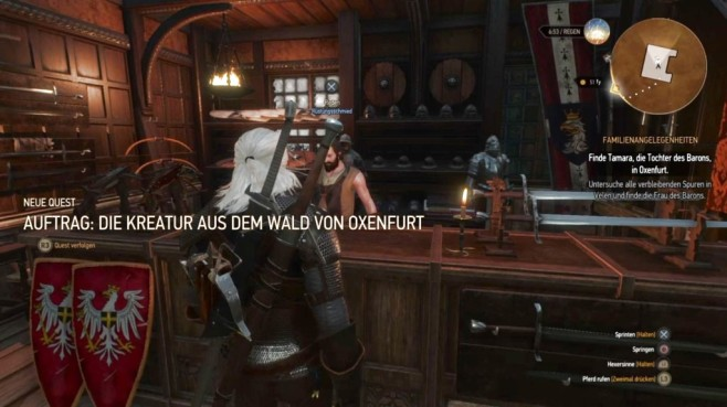 The Witcher 3: Tipps & Tricks Handwerk © CD Projekt Red/ Bandai Namco