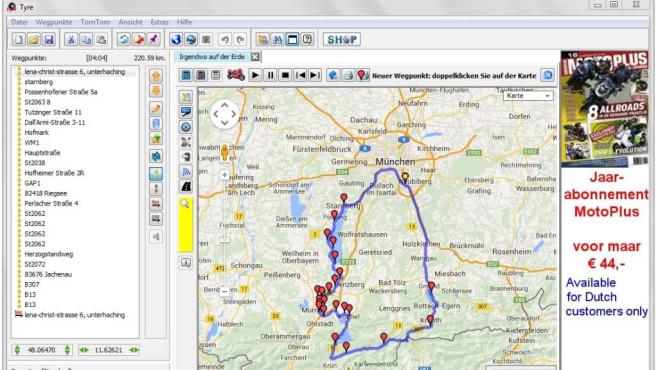 BaseCamp & Tyre: GPS-Geräte mit Daten betanken ©COMPUTER BILD