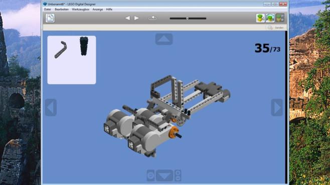 Lego Digital Designer: Kleines Kind zum Leben erwecken ©COMPUTER BILD