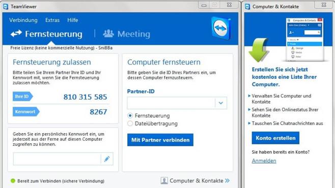 TeamViewer: Tolle IT-Kenntnisse unter Beweis stellen ©COMPUTER BILD