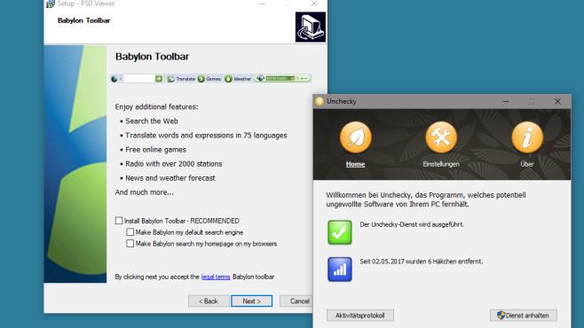 Unchecky: Drittanbieter-Software vorbeugen ©COMPUTER BILD