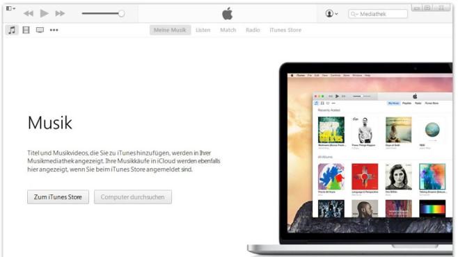 iTunes: Musik abspielen, Daten verwalten und übertragen ©COMPUTER BILD