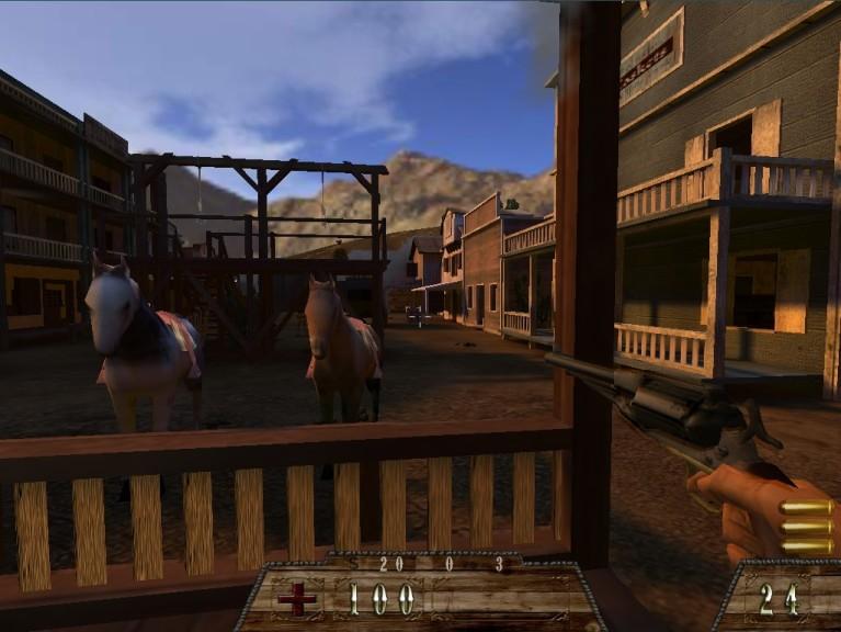 Screenshot 1 - Smokin' Guns