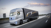 Future Truck autonomer LKW © Mercedes-Benz