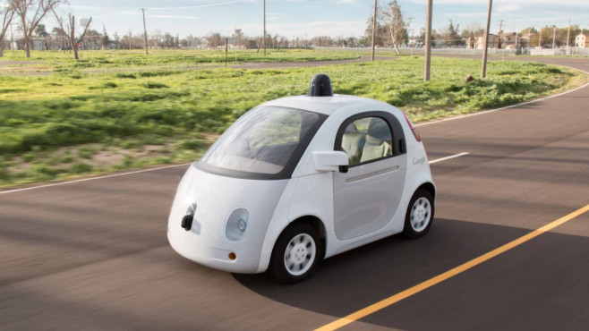 Google Self-Driving Car Project © Google