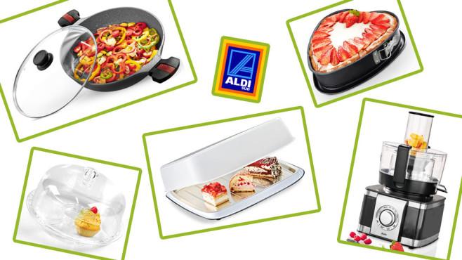 Küchenzubehör bei Aldi Süd©COMPUTER BILD/Aldi Süd