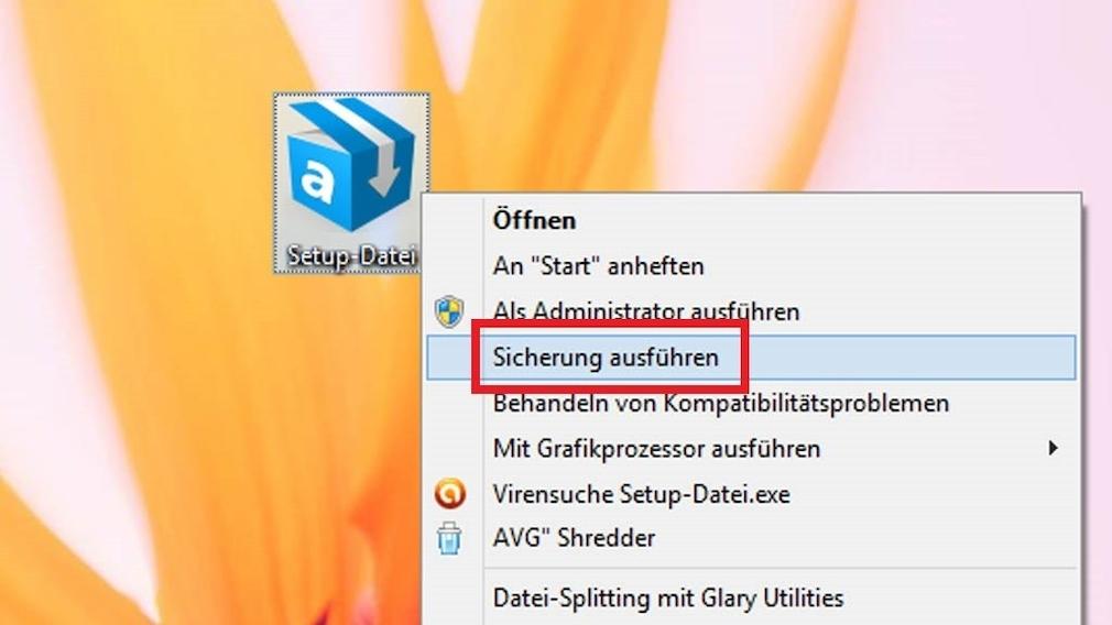 Windows 7/8/10: Einfachstes Backup per Kontextmenü – und NTBackup erklärt