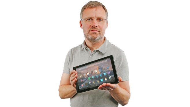 Amazon Fire HD 10 (2017) © COMPUTER BILD