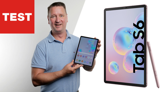 Samsung Galaxy Tab S6 ©COMPUTER BILD, Samsung