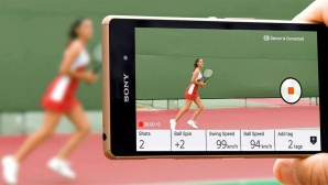 Sony Smart Tennis Sensor©Sony