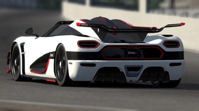 Assetto Corsa: Koenigsegg One:1 ©Kunos Simulazioni